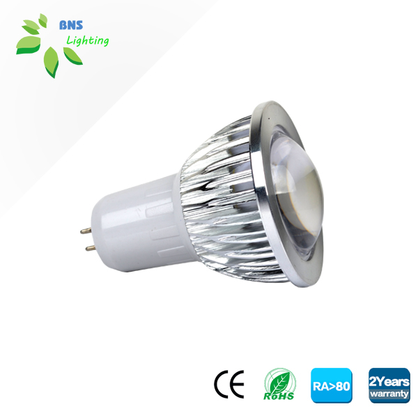 Q30 COB 3w MR16/GU10 led spotlight